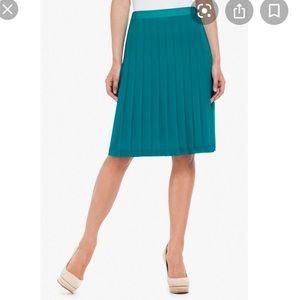 Bcbgmaxazria Bonita Teal Skirt